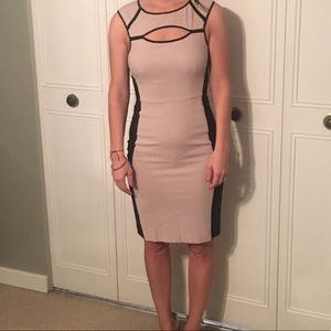 Mid-length body-con dress